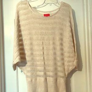 Elle lightweight sweater, dolman 3/4 sleeve